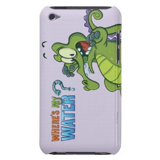 Swampy - Act Fast! iPod Case-Mate Cases