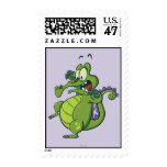 Swampy - Act Fast! Postage Stamp