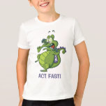Swampy - Act Fast! T-Shirt