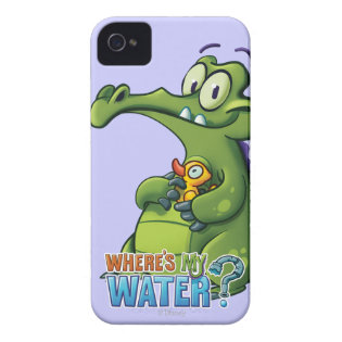 Swampy and Rubber Ducky iPhone 4 Cover