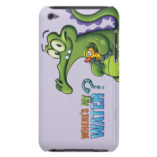 Swampy and Rubber Ducky iPod Case-Mate Case