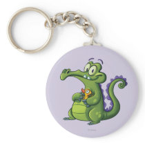 Swampy and Rubber Ducky Keychain