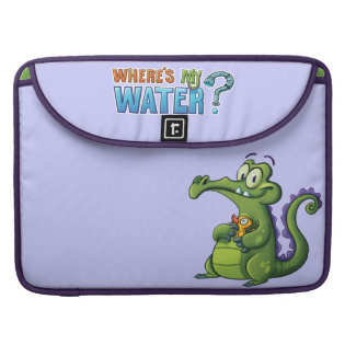 Swampy and Rubber Ducky MacBook Pro Sleeve