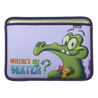 Swampy and Rubber Ducky MacBook Sleeve