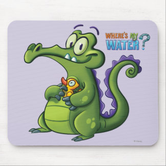 Swampy and Rubber Ducky Mouse Pad