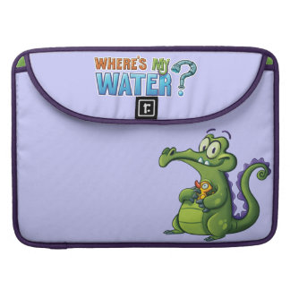 Swampy and Rubber Ducky Sleeve For MacBooks
