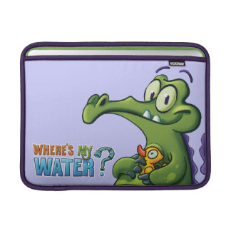 Swampy and Rubber Ducky Sleeves For MacBook Air