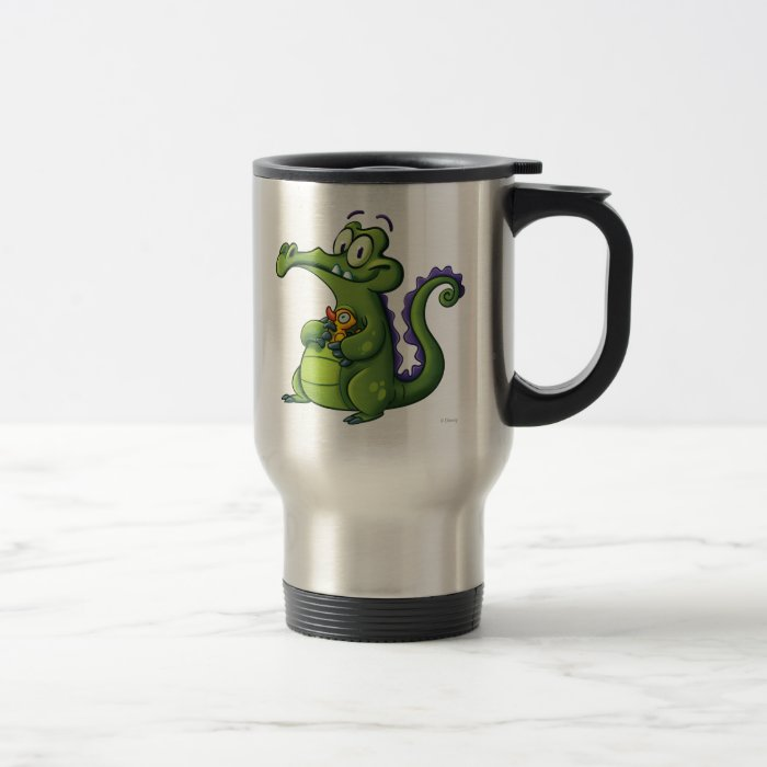 Swampy and Rubber Ducky Travel Mug