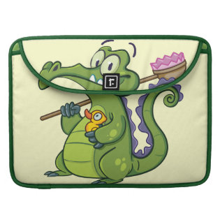 Swampy - Clean Machine MacBook Pro Sleeves