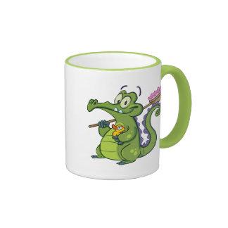 Swampy - Clean Machine Ringer Mug