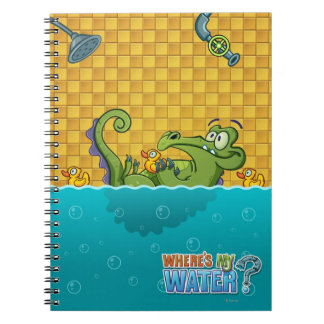 Swampy in the Bathtub Notebook