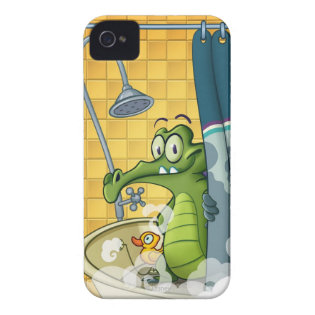 Swampy in the Shower iPhone 4 Case