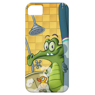 Swampy in the Shower iPhone SE/5/5s Case