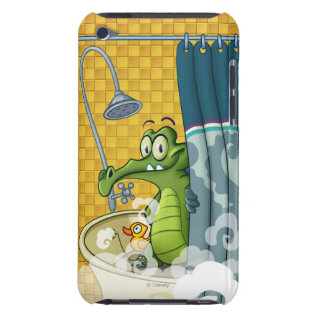 Swampy in the Shower iPod Touch Cases