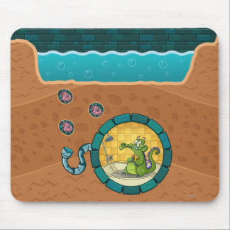 Swampy Pipes Mouse Pad
