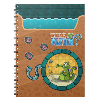 Swampy Pipes Spiral Notebook