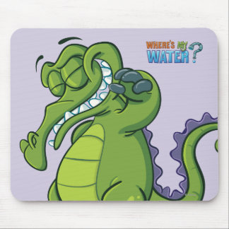 Swampy - Shower Power Mouse Pad