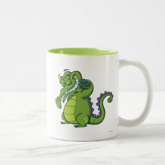 Swampy - Shower Power Two-Tone Coffee Mug