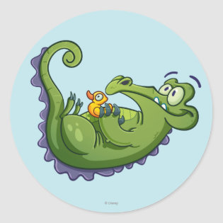 Swampy - Sink or Swim Classic Round Sticker