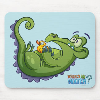 Swampy - Sink or Swim Mouse Pad
