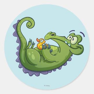 Swampy - Sink or Swim Round Sticker