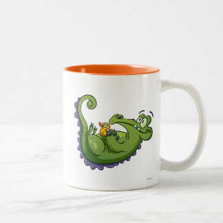 Swampy - Sink or Swim Two-Tone Coffee Mug