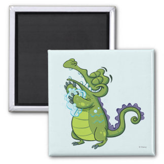 Swampy - Taking Clean to the Next Level 2 Inch Square Magnet