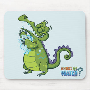Swampy - Taking Clean to the Next Level Mouse Pad