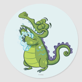 Swampy - Taking Clean to the Next Level Classic Round Sticker