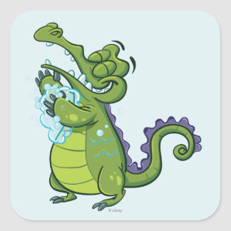 Swampy - Taking Clean to the Next Level Square Sticker