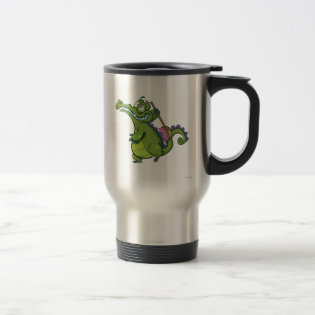 Swampy - Time to Scrub 15 Oz Stainless Steel Travel Mug