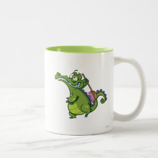 Swampy - Time to Scrub Two-Tone Coffee Mug