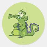 Swampy - Under Pressure Classic Round Sticker