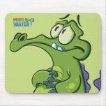 Swampy - Under Pressure Mouse Pad