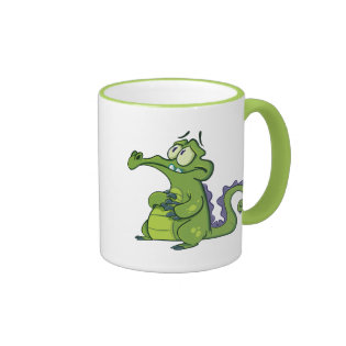 Swampy - Under Pressure Ringer Coffee Mug