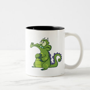 Swampy - Under Pressure Two-Tone Coffee Mug