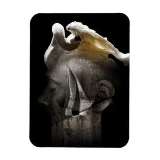 Swan 2013 rectangular photo magnet