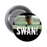 SWAN! 2 INCH ROUND BUTTON