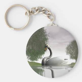 Swan and Willows Keychains