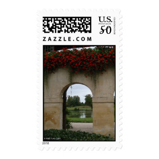 Swan Arch Versailles Postage Stamp