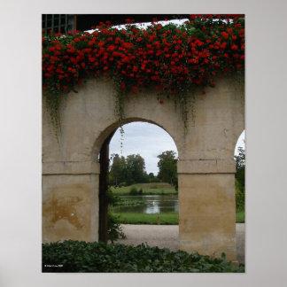 Swan Arch Versailles Print