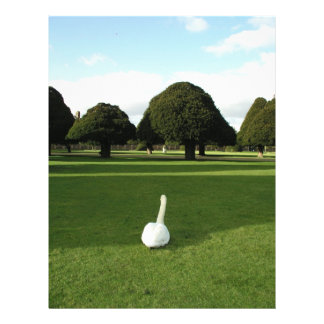 Swan at Hampton Court Palace, UK Personalized Flyer