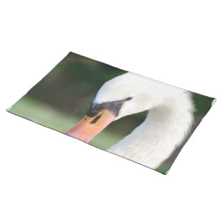 Swan Beak Placemat Cloth Placemat