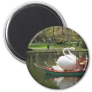 Swan Boat Magnet