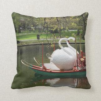 Swan Boat Pillow