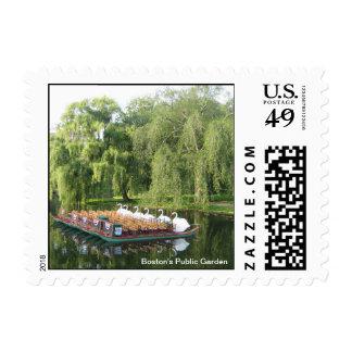 Swan Boats - Boston Postage
