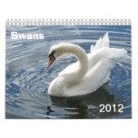 Swan Calendar 2012