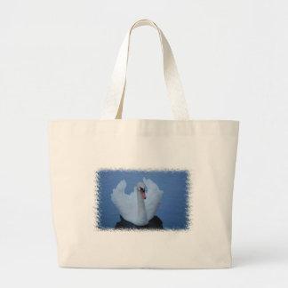 Swan Canvas Bag