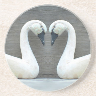 Swan Country Wedding Coasters