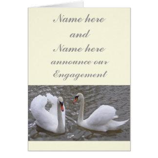 Swan Couple Engagement Announcement